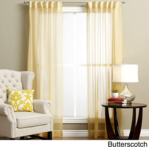 Ricardo Lucerne Semi Sheer Curtain Pairs