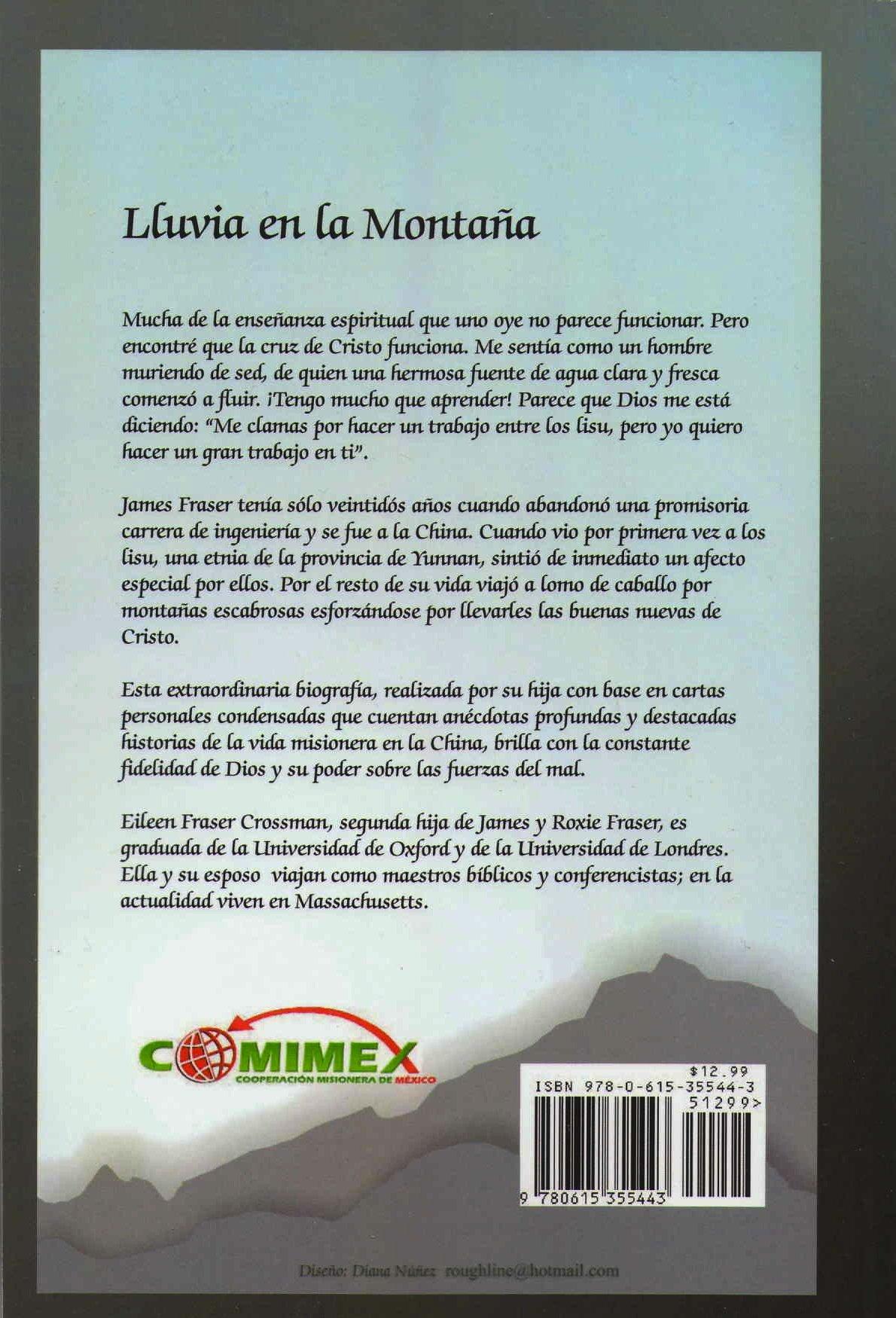 Lluvia En La Montana (James O Fraser): Eileen Fraser ...