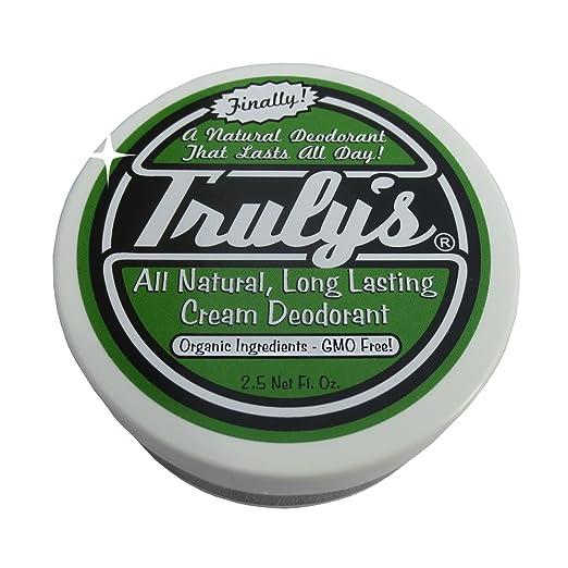 Truly's Natural Deodorant, ORGANIC