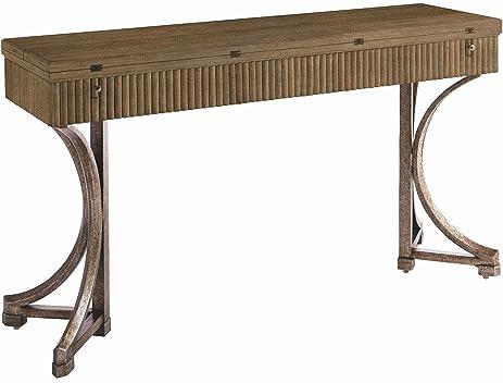 Stanley Coastal Living Resort Flip Top Console Table In Deck