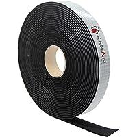 EPDM celrubber afdichtingstape eenzijdig, zelfklevend schuimrubber - 5m per rol - breedte (5 tot 50) mm x dikte (1 tot…