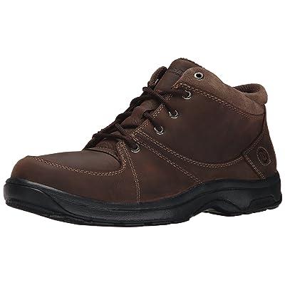 Dunham Men's Addison Mid Cut Waterproof Boot, Dark Brown, 13 4E US | Chukka