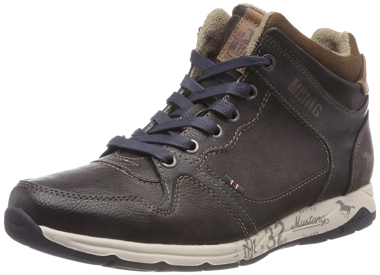 TALLA 44 EU. Mustang High Top Sneaker, Zapatillas Altas para Hombre