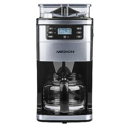 Medion MD 15486 – Cafetera con molinillo integrado, máx ...