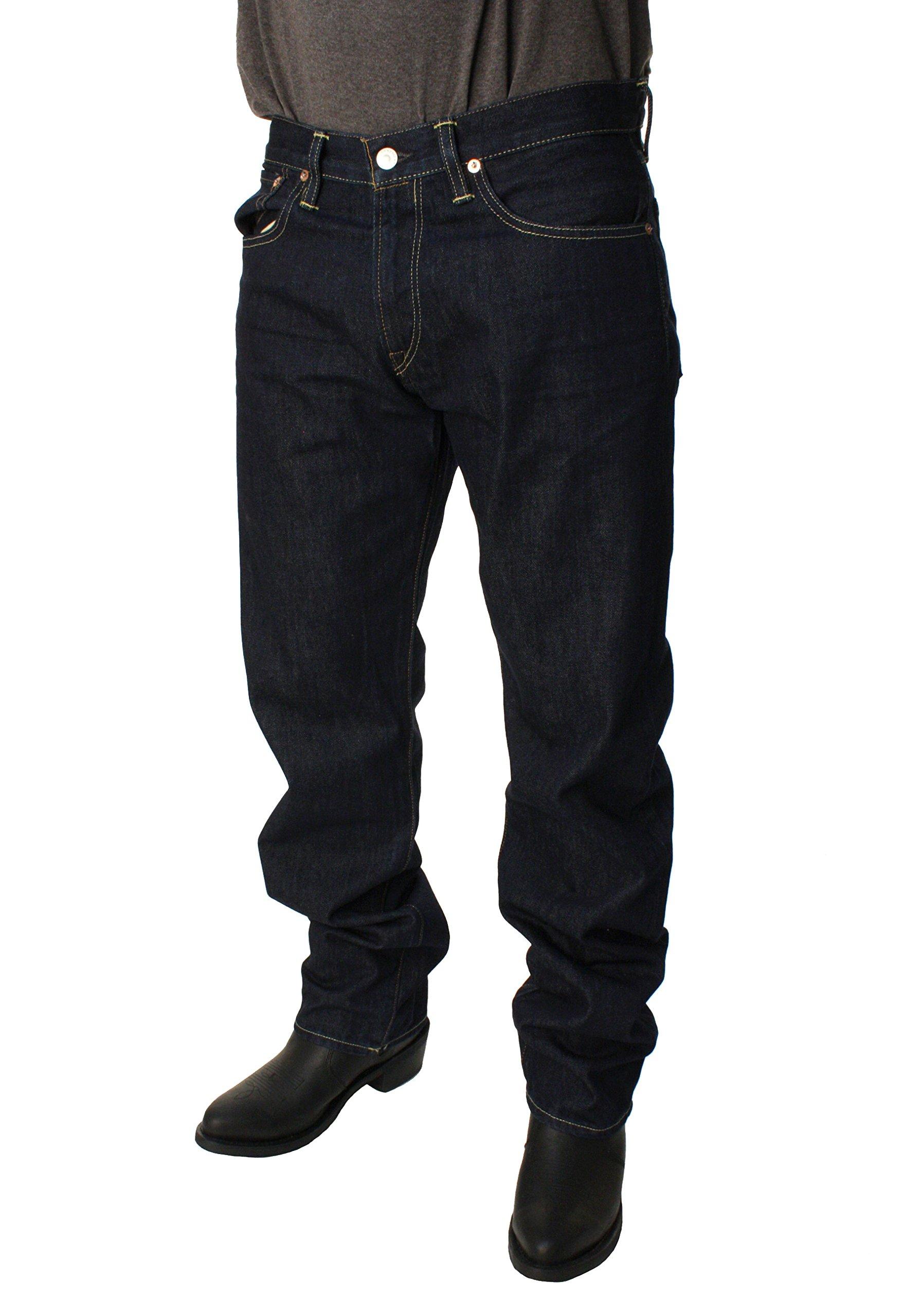 Polo Ralph Lauren Mens Classic 867 Fine Denim Jeans (36W x 34L, Riverside)