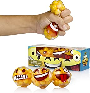 YoYa Toys DNA Emoji Stress Balls Squeezing Stress…