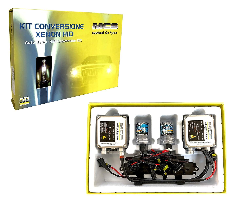 Melchioni 353000011 Xenon H1 HID Conversion Kit 6000K 24V Lamps Xenon Bulbs and Ballasts for Fog or Anabbagl