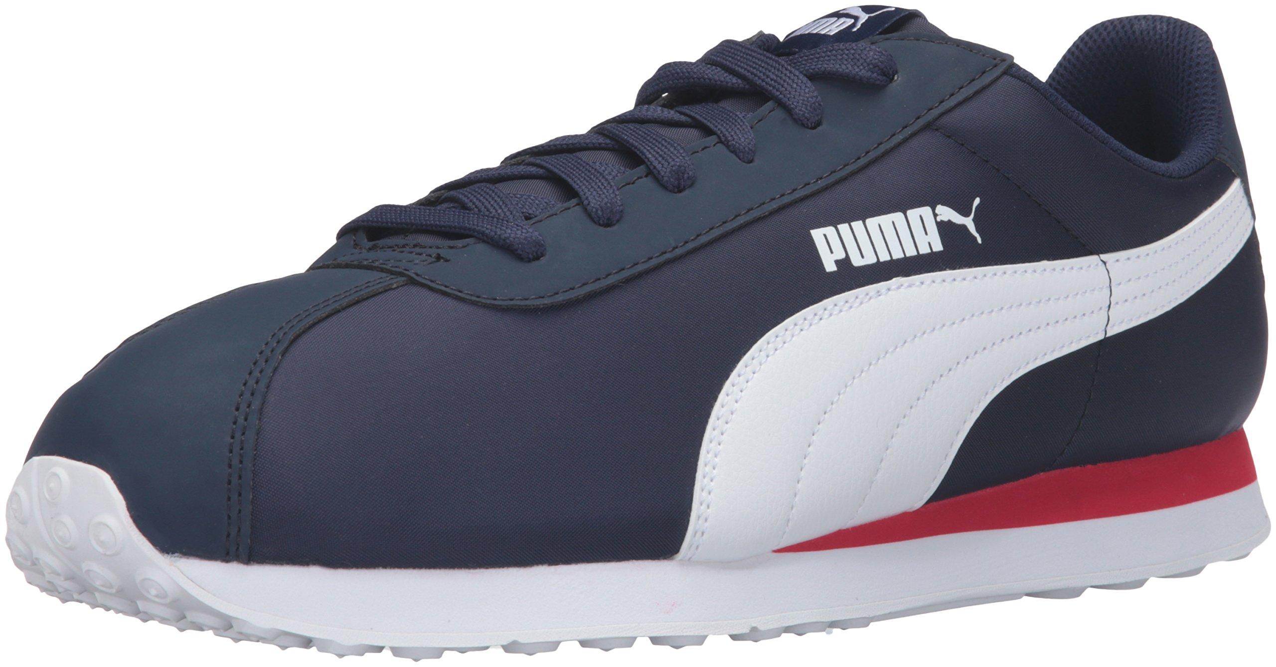 PUMA Men's Turin NL Fashion Sneaker, Peacoat White, 11.5 M US