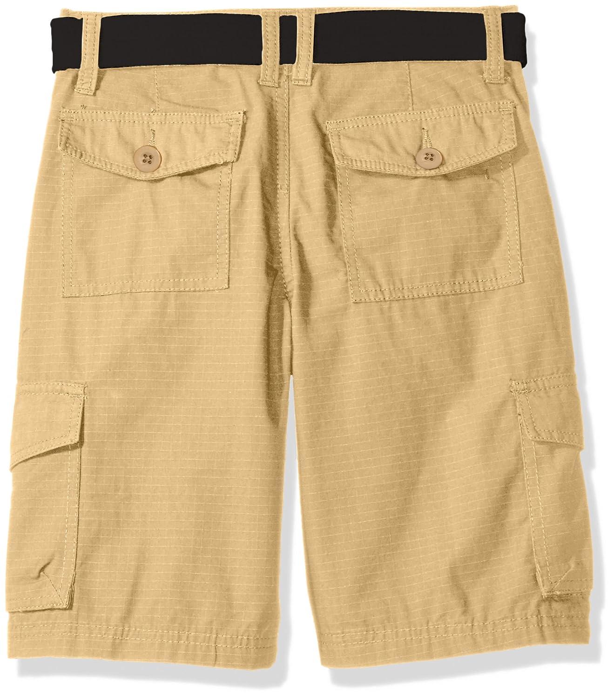 Akademiks Kids Boys Rip Stop Cargo Short W//Belt
