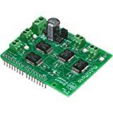 """Progressive Automations LC-82 MultiMoto 4 Channel Motor Control with 6.5 Amp Each, Arduino Shield Microcontroller, 2.1"""" Length"""