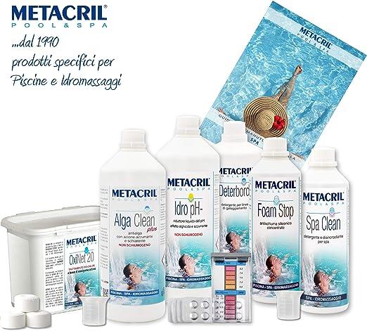 Metacril - Kit para spa e hidromasaje con oxígeno activo - Kit OXI ...