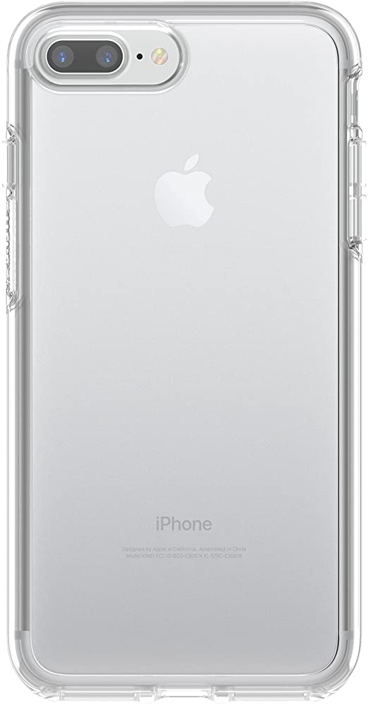 Amazon Com Otterbox Symmetry Clear Series Case For Iphone 7 Plus Only Retail Packaging Clear Clear Clear