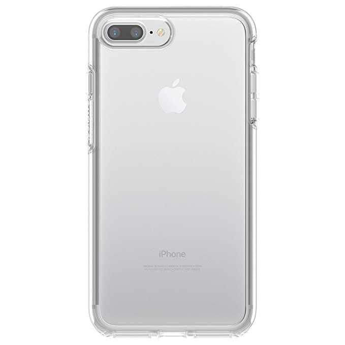 wholesale dealer f90bb 54a0a OtterBox SYMMETRY CLEAR SERIES Case for iPhone 7 Plus (ONLY) - Retail  Packaging - CLEAR (CLEAR/CLEAR)