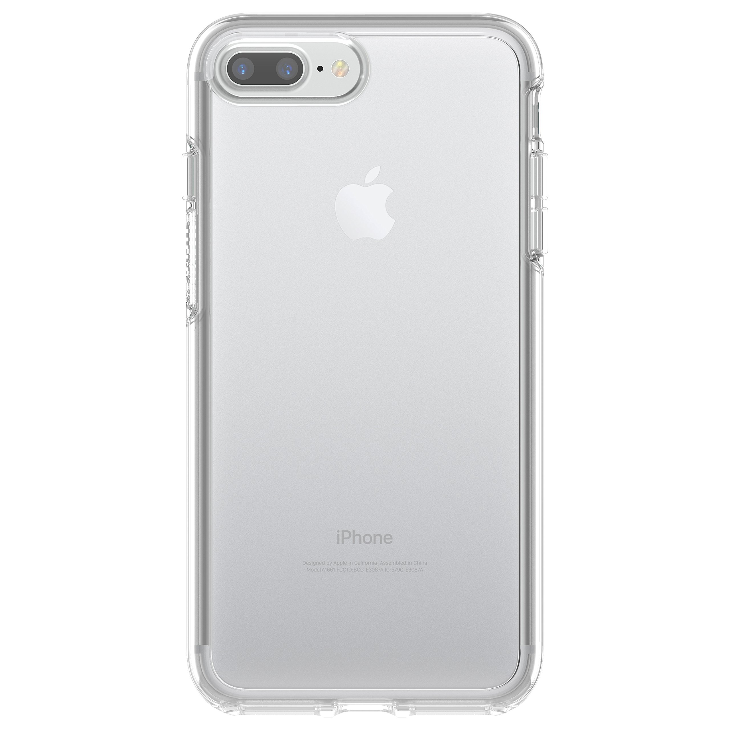 OtterBox SYMMETRY CLEAR SERIES Case for iPhone 7 Plus (ONLY) - Retail Packaging - CLEAR (CLEAR/CLEAR)
