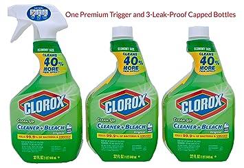 Clorox todos los de limpieza Limpiador con lejía, botella de ...