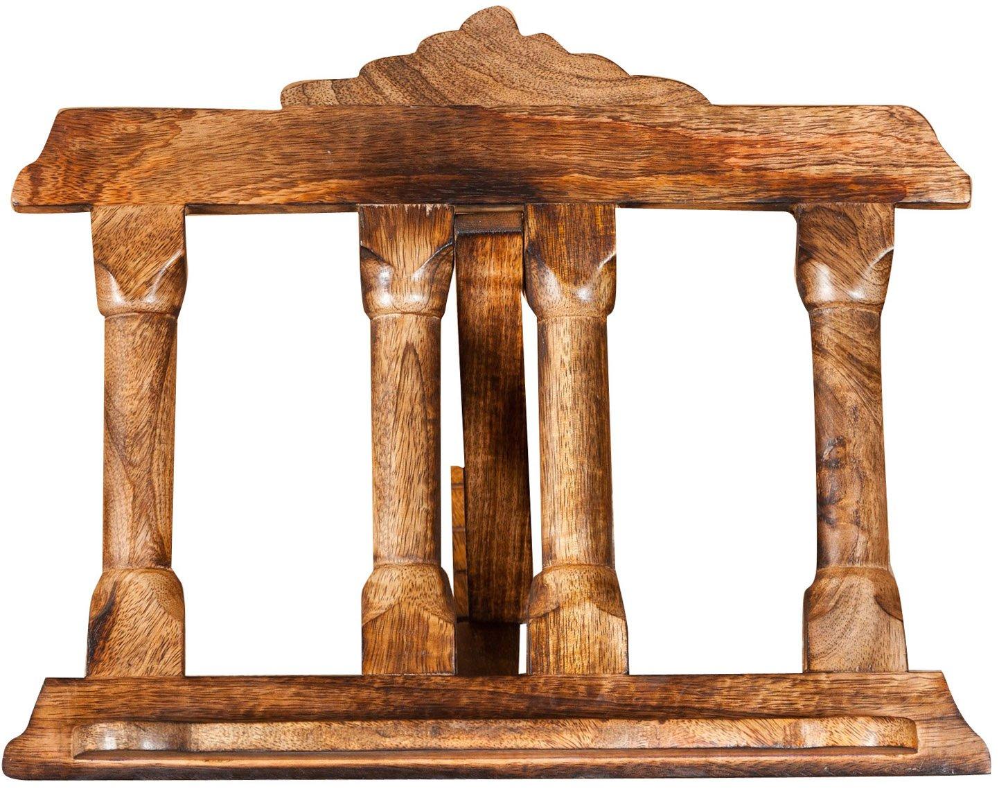 Biscottini Leggio da appoggio in legno finitura noce L36xPR7xH28 cm 2650 81