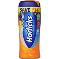 Horlicks Health & Nutrition drink - 1 kg Pet Jar (Classic Malt)