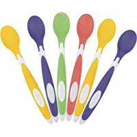 Dr. Brown's Soft-Tip Toddler Feeding Spoons, 6 Pack, Multi