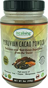 Peruvian Cacao Powder by Incaliving | 100% USDA Organic | Incan Superfood