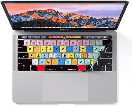 Adobe Photoshop, por los editores teclas para teclado de MacBook Pro Touch Bar – Protección y accesos directos