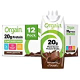 Orgain 20g Plant-Based Protein Shake - Creamy Chocolate - Gluten, Dairy, and Soy Free, Vegan, Non Gmo, Organic, 11 oz…