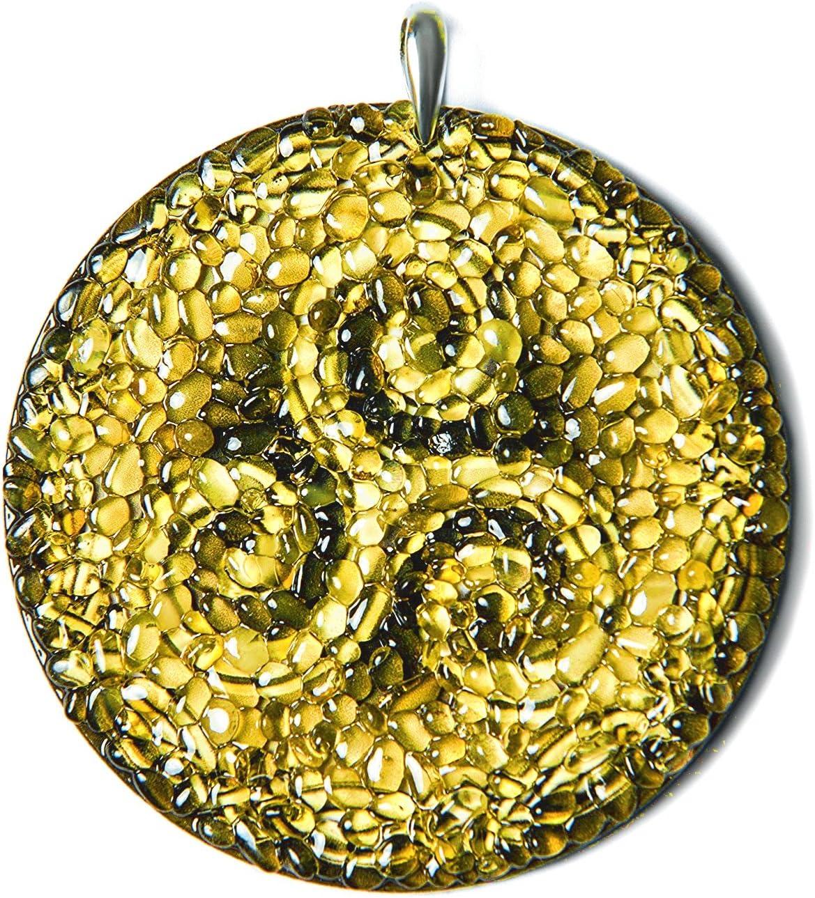 Amber Magic Amulette celtique en ambre pour une conduite s/écuris/ée Trisk/èle