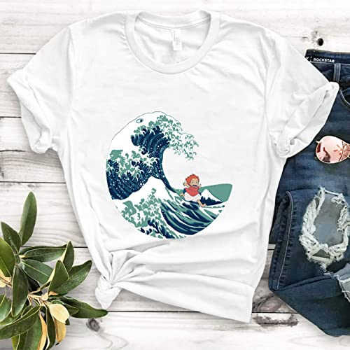 newest collection 92a73 bce82 Amazon.com: Ponyo and The Great Wave off Kanagawa - Moderne ...