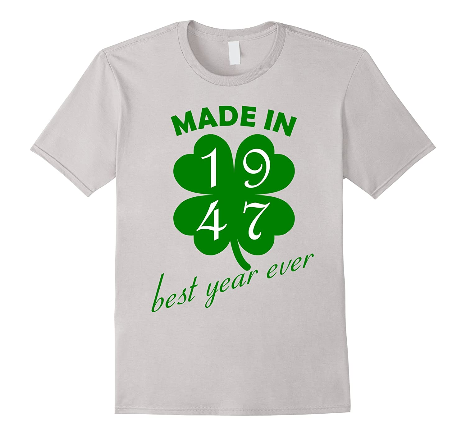 70th Birthday Vintage Made In 1947 Gift Ideas Man T Shirt BN