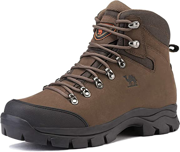 CAMEL CROWN Mens Outdoor Trekking Backpacking Boot