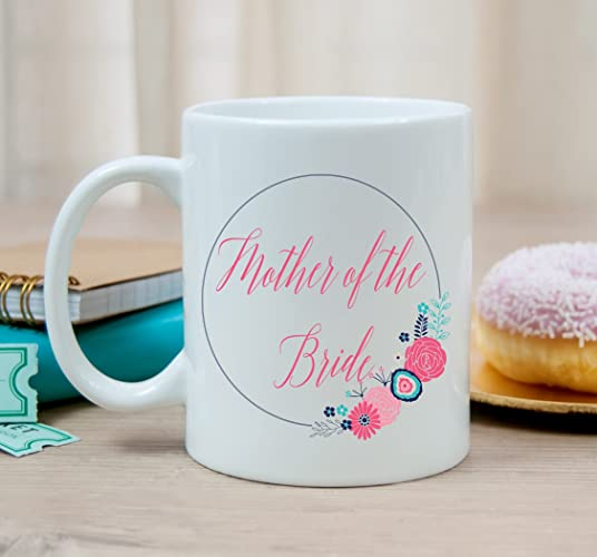 Mother Of The Bride Mug Wedding Party Gift MOB Under 20