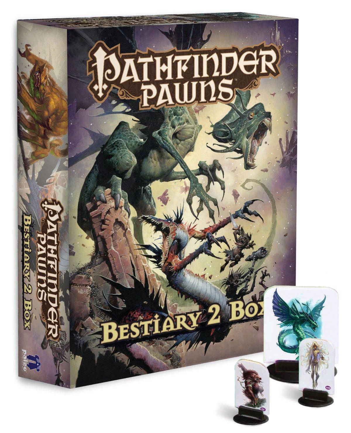 Pathfinder Schachfiguren: Bestiarium 2Box Jason Bulmahn Paizo Publishing PZO1007 Spielen / Raten