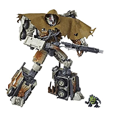 Transformers Toys Studio Series 34 Leader Class Dark of the Moon Movie Megatron with Igor Action Figure - Kids Ages 8 and Up, 8.5-inch: Toys & Games
