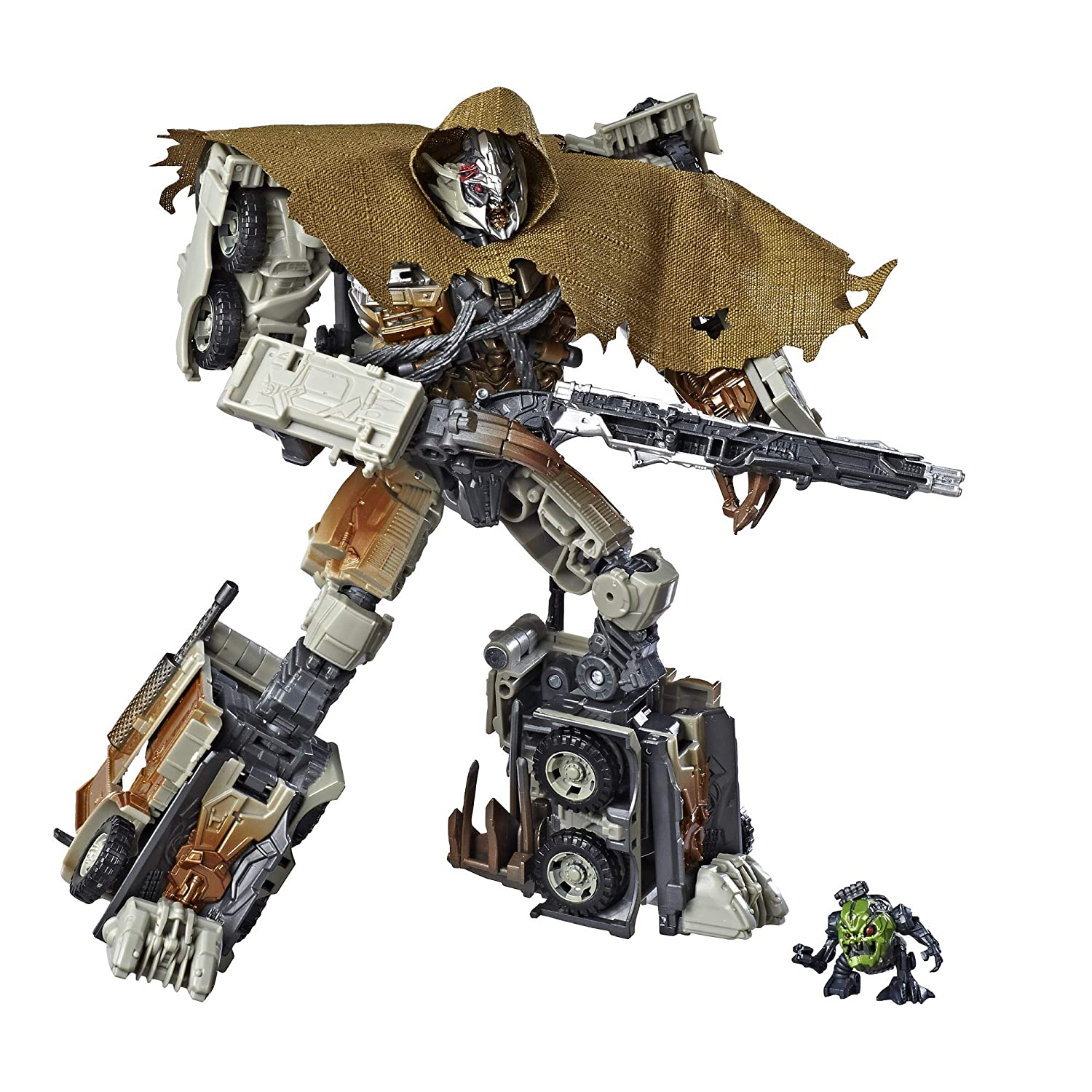 Transformers Toys Studio Series 34 Leader Class Dark of the Moon Movie  Megatron with Igor Action Figure - Kids Ages 8 and Up, 8 5-inch