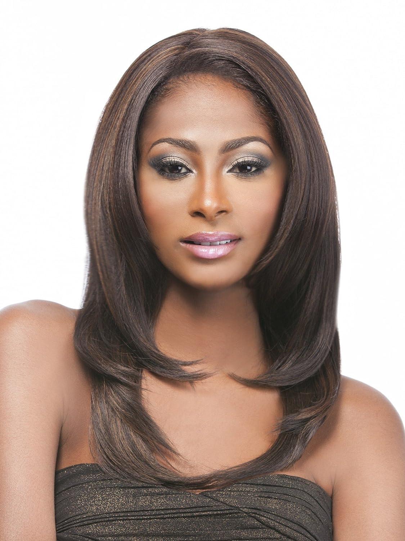 MEGA LACE 103 (1 Jet Black) - Hair Topic L-Part Lace Front Wig