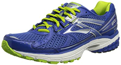 Brooks Mens Adrenaline GTS 13 M Running Shoes 1101291D510 Deep  Royal/Lime/Silver/