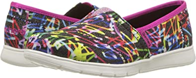 100% high quality arriving hot sale online Amazon.com   Skechers Kids Girl's Lil Bobs Pureflex - Glo ...