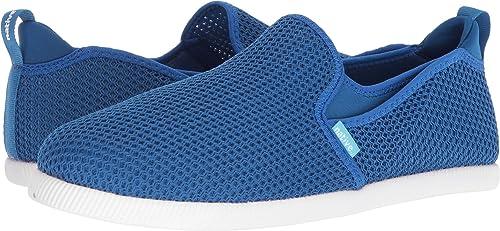 native shoes Mens Cruz Unisex Mesh Slip On In Blue