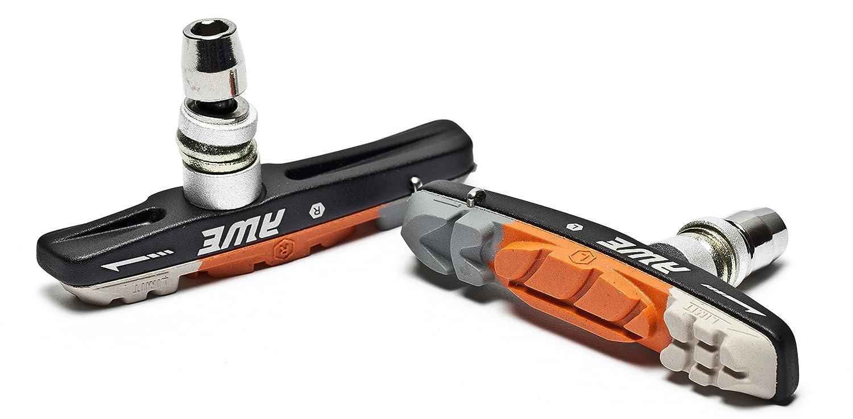 AWE/® Triple Contour V Brake Pads Grey//Orange//White 72mm