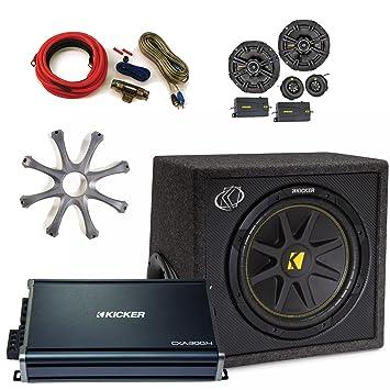 """Kicker CXA 300.4 4 canales Amplificador, Kicker 40 css654 6,5 """"componente"""
