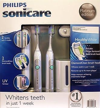 Amazon.com: Philips Sonicare HX6733/90 HealthyWhite 3 Modo ...
