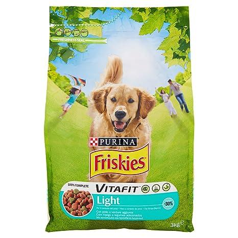 Friskies vitafit Light pienso para el Perro, con Pollo y Verduras, 3 kg