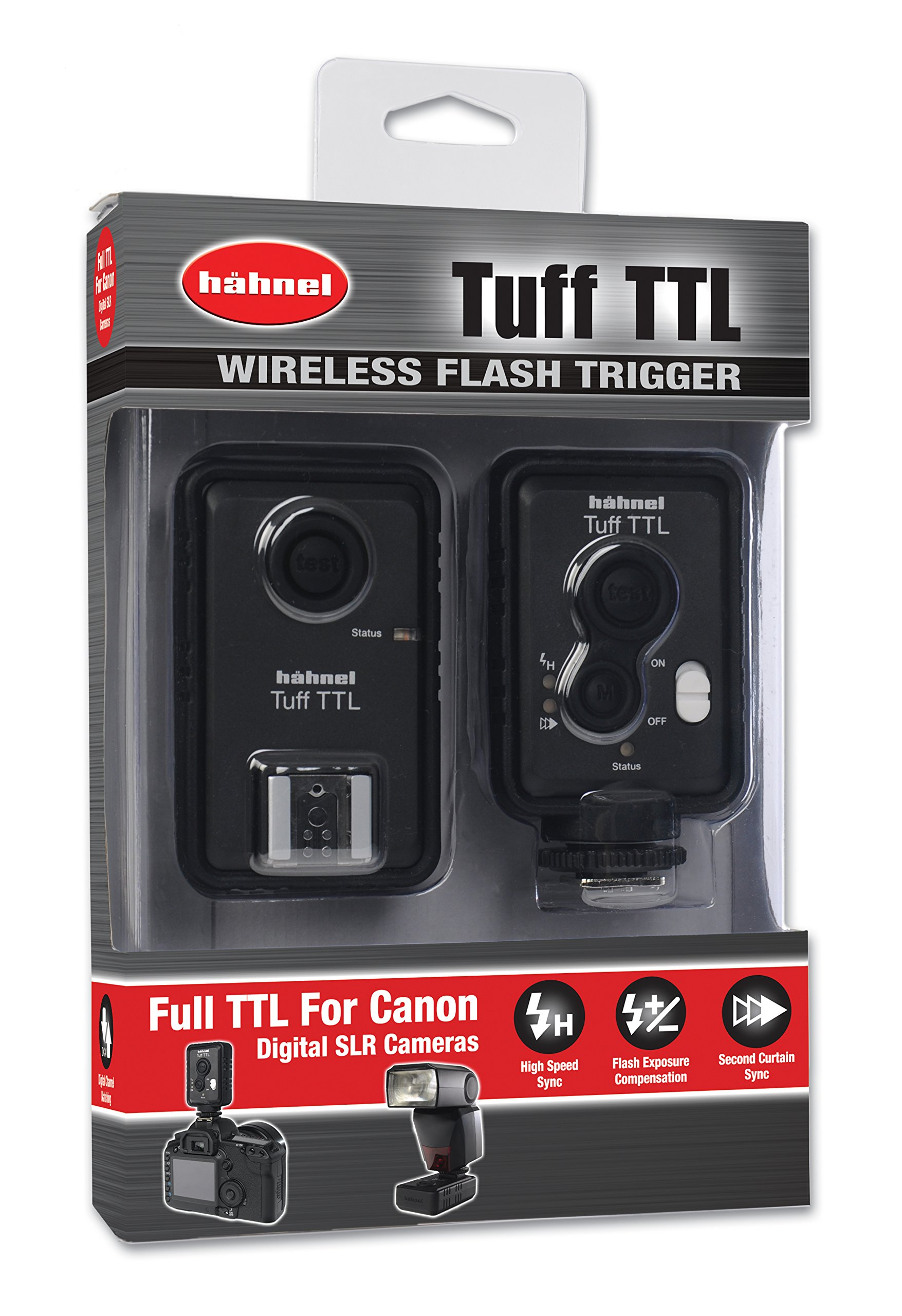 Hahnel HL -TUFFTTL Hahnel TUFF TTL Flash Trigger for Canon (Black) by Hahnel