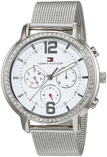 Reloj tommy hilfiger mujer malla blanca
