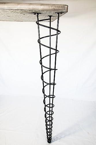 Bon Bar Height Table Legs, Modern, 40 Inch Height, Single Leg, Straight