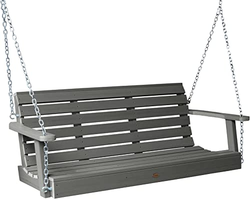 Highwood AD-PORW1-CGE Weatherly Porch Swing, 5 Feet, Coastal Teak