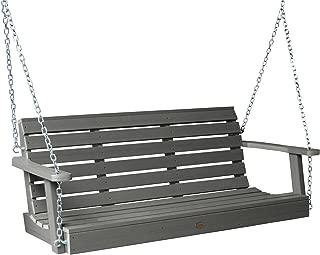 product image for Highwood AD-PORW1-CGE Weatherly Porch Swing, 5 Feet, Coastal Teak