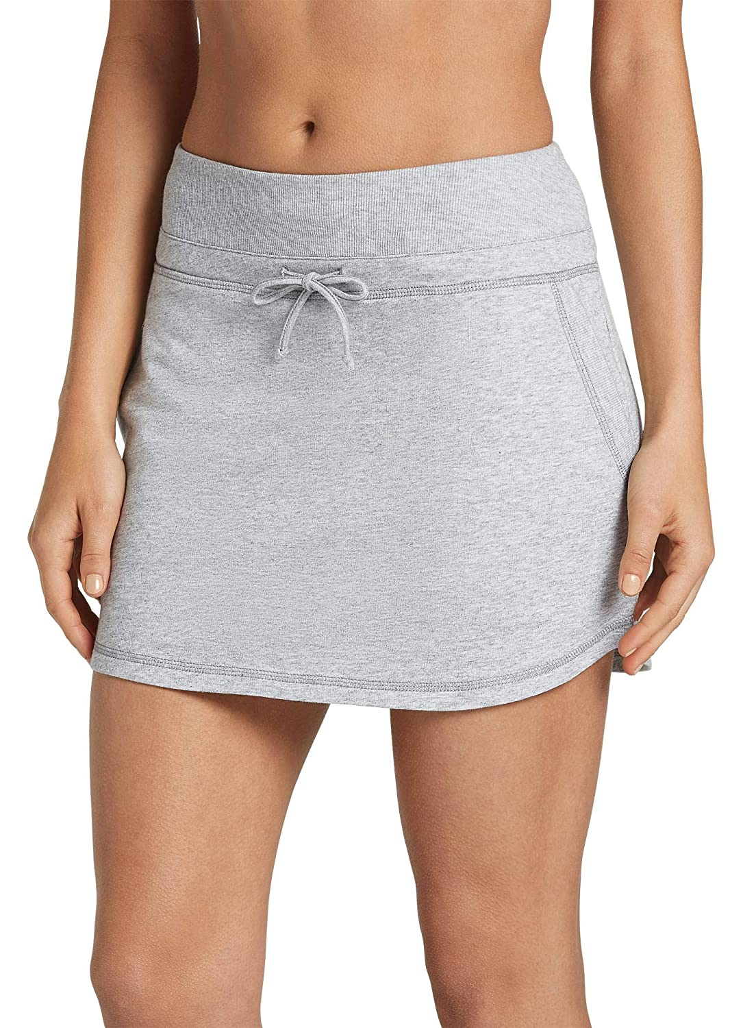 989fda29b1 Jockey Women's Activewear Drawstring Skirt, Light Grey Heather, XL at  Amazon Women's Clothing store: