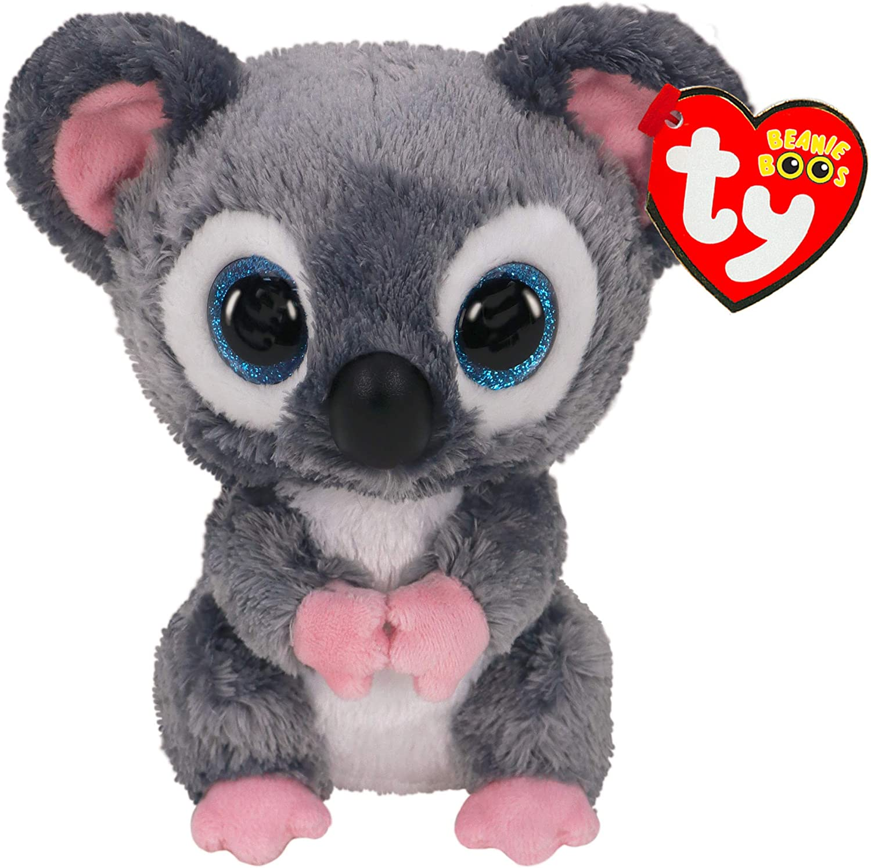 Alaska Stuffed Animals, Amazon Com Ty Beanie Boos Katy Koala Wires Wildlife Rescue Toys Games