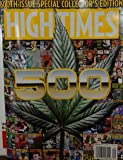 High Times Magazine (September, 2017) 500th Issue Special Collector's Edition