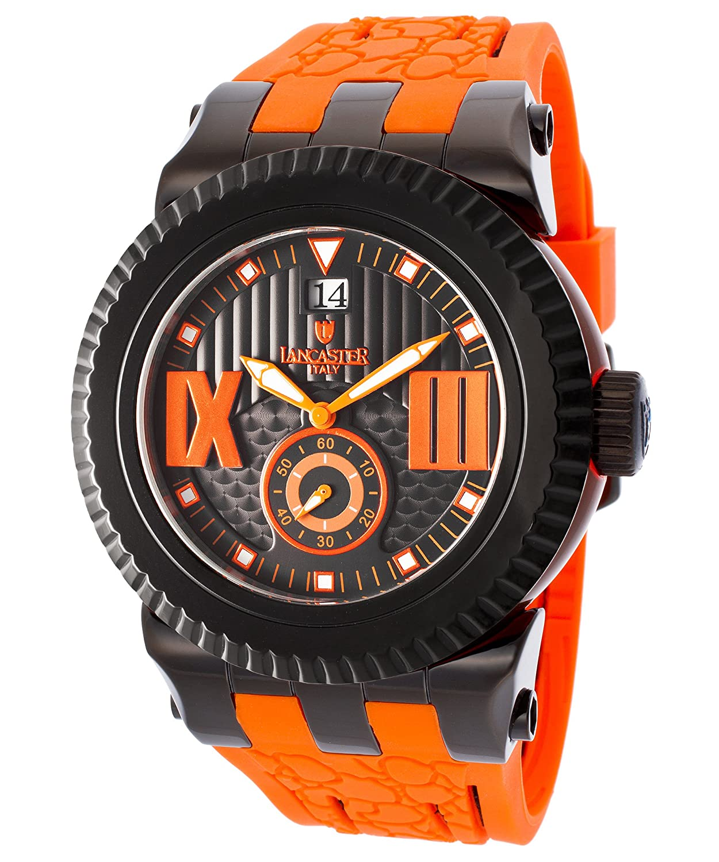 A_line Maya Damen 43mm Chronograph Leder Armband Uhr 80012-RG-02-WH-SSET